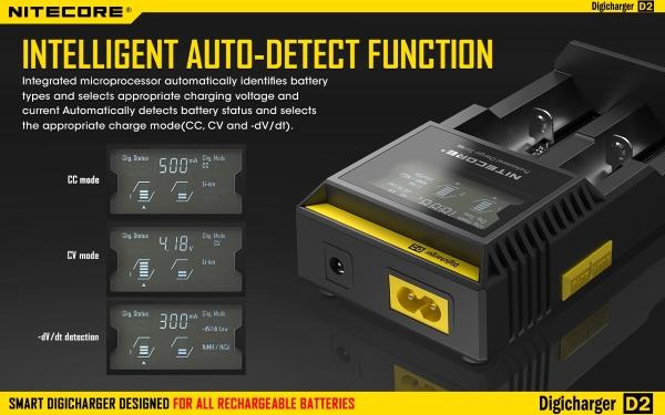 Universal Batterilader Li ion Utstyrsbutikken